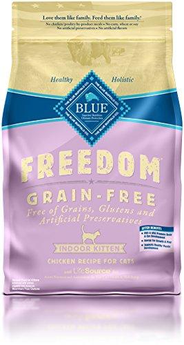 BLUE Buffalo Freedom Grain-Free Indoor Chicken Recipe For Kittens (Dry)