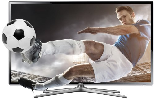 Samsung UE40F6100 40-inch Widescreen Full HD 1080p 3D Slim LED TV with Freeview HD and 2 Glasses (New for 2013)