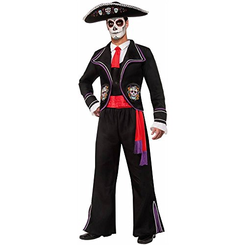 Day of the Dead Mariachi Macabre Adult Costume - Standard