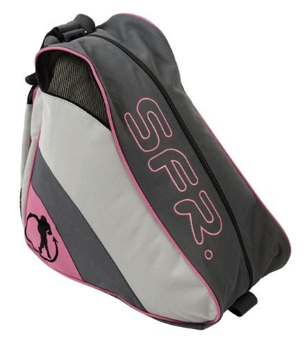 SFR Quad, Inline and Ice Skate Bag - Pink/Grey/Black