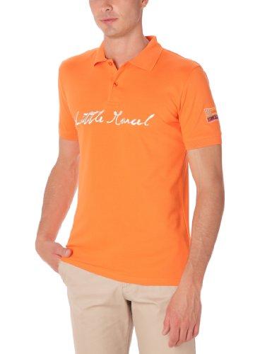Little Marcel - Maglia, uomo Arancione (Orange) 2XL