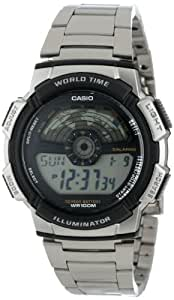 Casio Men's AE1100WD-1A Sport Multi-Function Grey Dial Watch