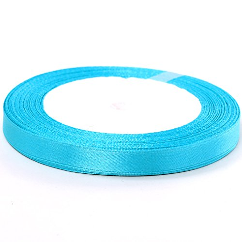 Fashion And Superior Quality 10Mm Pure Color Single-Face Silk Ribbon For Happy Marriage Sd034 (A7)