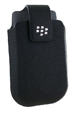 BlackBerry Torch 9800 Leather Swivel Holster (w/Belt Clip) by Blackberry
