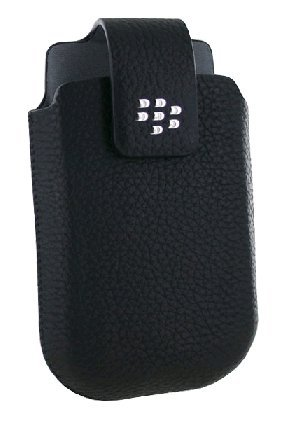 BlackBerry Torch 9800 Leather Swivel Holster (w/Belt Clip)