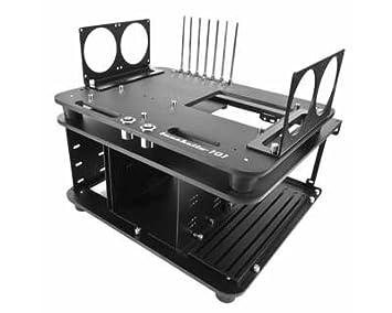 Micro-Cool - Boitier Open Air - Plateforme de Test - Banchetto 101 Rev.2 - Noir Alu