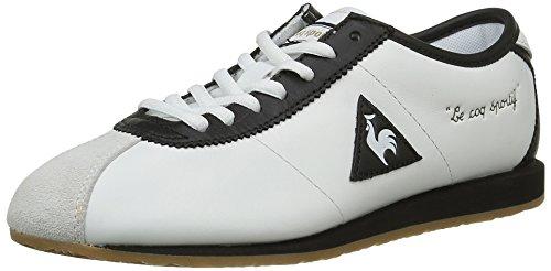 Le Coq Sportif Wendon Ther, Scarpe da Ginnastica Basse Donna, Bianco (White/Black), 38 EU