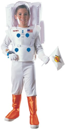 Childs Nasa Astronaut Costume (Size:Small 4-6)
