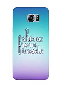 MiiCreations 3D Printed Back Cover for Samsung Galaxy Note 5,Shine From Inside