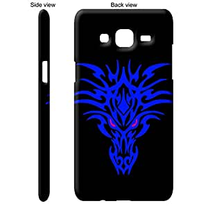 TheGiftKart Pink Stare Of The Blue Dragon Back Cover Case for Samsung Galaxy J5 - Multicolor