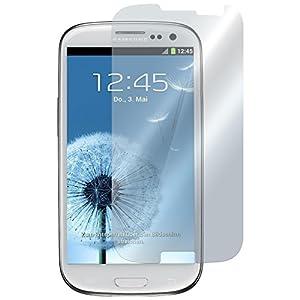4x Samsung Galaxy S3 Schutzfolie i9300 PhoneNatic - Schutz Display Folie Vorder Screen S 3
