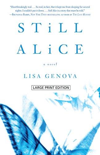 Buchseite und Rezensionen zu 'Still Alice' von Lisa Genova