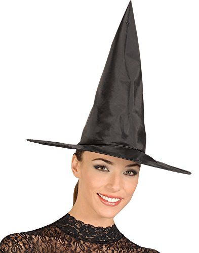Tafetta Witch Hat Costume Accessory