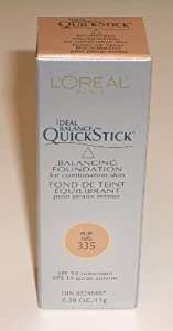 L'Oreal Ideal Balance QuickStick Balancing Foundation for Combination Skin, Buff 335