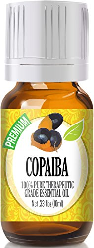 Copaiba 100% Pure, Best Therapeutic Grade Essential Oil - 10ml
