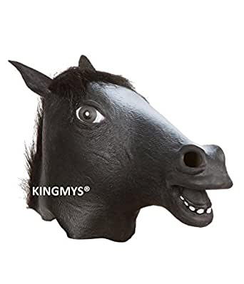 KINGMYS® Fantastic, Whimsy, Halloween, Costume Party, Latex Head Mask, Halloween Mask