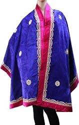 Matelco velvet embroidered women shawl