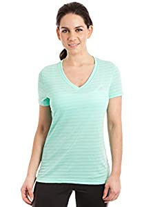 Buy Adidas Ladies Ultimate Short Sleeve V-Neck Tee by adidas