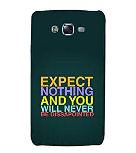 printtech Cool Quotes Success Back Case Cover for Samsung Galaxy Core 2 G355H