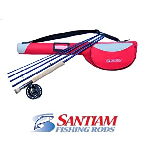 Santiam Fishing Rods Travel Fly Rod 5 Piece 9
