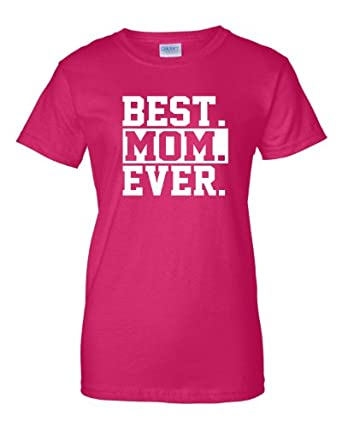 Small Heliconia Womens Best Mom Ever #1 Mom World''s Best Mom Mother''s Day T-Shirt