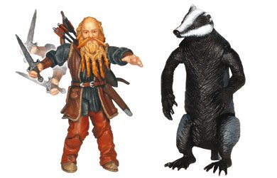 Buy Low Price Jakks Pacific Chronicles of Narnia Prince Caspian Basic Figure Trumpkin and Trufflehunter (B001E0X7NC)