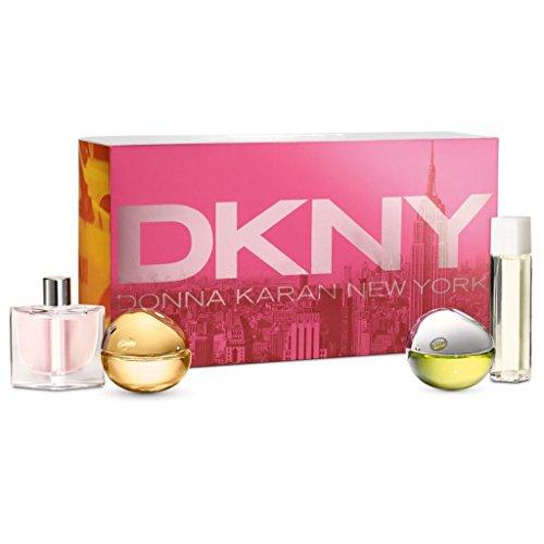 DKNY Miniatures Confezione Regalo 7ml City + 7ml Golden Delicious + 7ml Be Delicious + 4ml Energizin