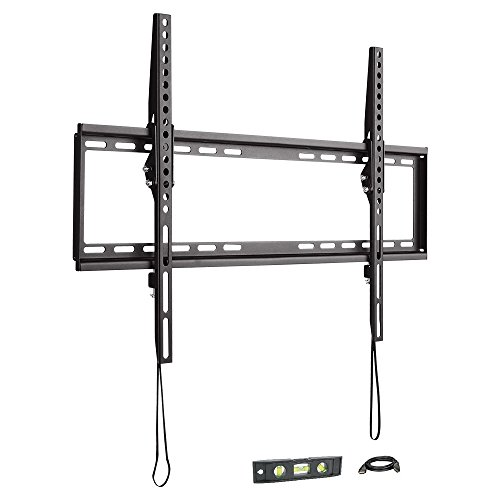 "37""-70"" Tilt TV Wall Mount LED & LCD HDTV Up to VESA 600x400 (5410A) Max Load 77 lbs with 6ft HDMI Cable w/ Bubble Level for Samsung, Vizio, Sony, Panasonic, LG, Sharp and Toshiba TV,Power By ProHT"