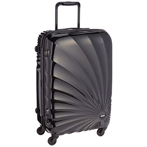 [ストラティック] Stratic Sun /スーツケースMサイズ 4輪 45L 超軽量ハードタイプのキャリーケース 3-9501-65 001 Luxury black (ブラック)