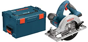 Bosch Bare-Tool CCS180BL 18-Volt Lithium-Ion 6-1/2-Inch Circular Saw  with L-BOXX-2 and Exact-Fit Tool Insert Tray