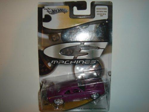 Hot Wheels 1:50 G Machines '71 Dodge Challenger Purple