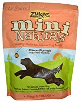 Mini Naturals, Healthy Moist Miniature Dog Treats, Salmon Formula, 6 oz (170 g) by Zuke's