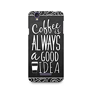 Mobicture Coffee is always a good idea Premium Printed Case For Micromax YU Yureka A05510