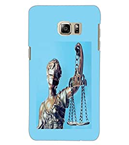 SAMSUNG GALAXY NOTE 5 EDGE ANDHA KANOON Back Cover by PRINTSWAG