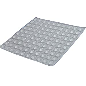 Amazon Com Clear Self Adhesive Rubber Feet Small Bumpers