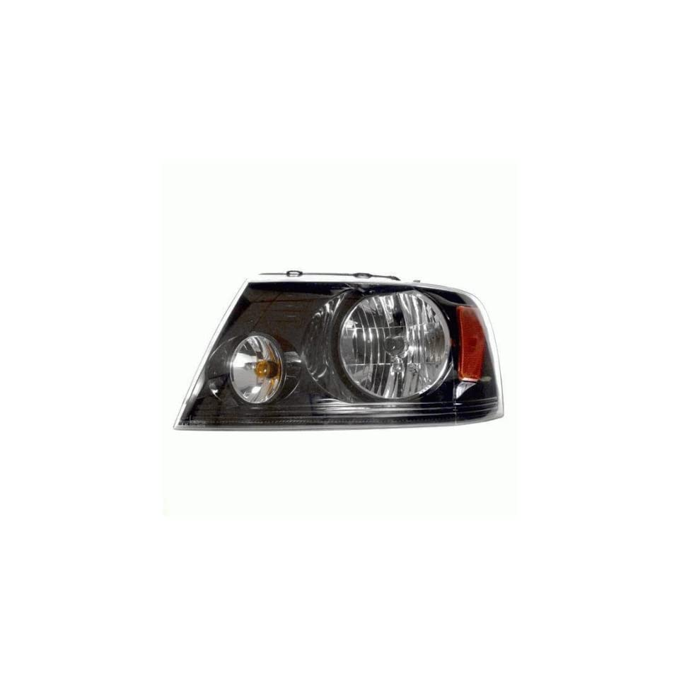 OE Replacement Ford F 150 Driver Side Headlight Assembly Composite (Partslink Number FO2502247)