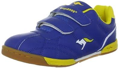 KangaROOS Hector-Combo 11035, Unisex - Kinder Sportschuhe, Blau (royalblue/neonyellow/wht 470), EU 37