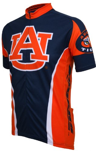 NCAA Auburn Cycling Jersey,X-Large (navy/orange) at Amazon.com