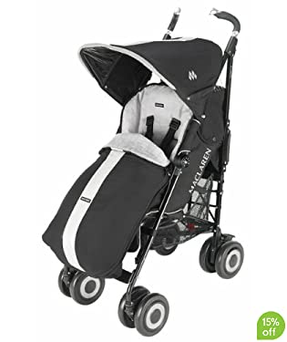 Maclaren Techno XT Stroller - Black