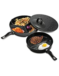 Save On Compartment Cooking Pans – 1 Unit Deal