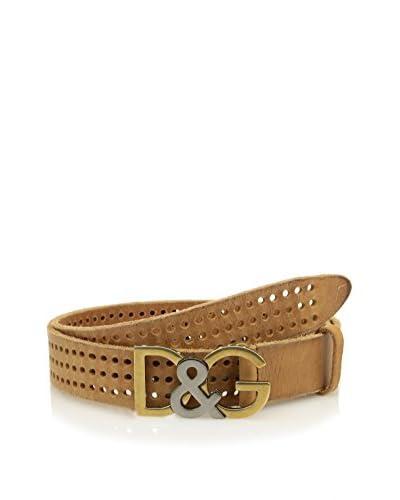 Dolce & Gabbana Cintura Pelle [Beige]
