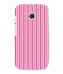 Fuson 3D Printed Colour Pattern Designer Back Case Cover for Motorola Moto E - D801