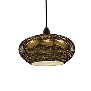 WAC Lighting LTK 534SM DB Pendant For H Series Track Ceiling Pendant Fixtur