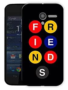 "Friends Show Buttons Printed Designer Mobile Back Cover For ""Motorola Moto X"" By Humor Gang (3D, Matte Finish, Premium Quality, Protective Snap On Slim Hard Phone Case, Multi Color)"