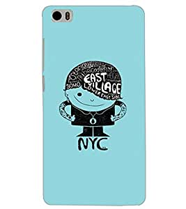 XIAOMI MI5 EAST VILLAGE Back Cover by PRINTSWAG