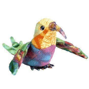 Nectar the Hummingbird - Ty Beanie Babies - 1