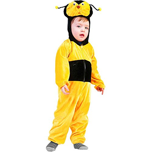 Bumble Bee Jumpsuit Toddler Costume - 3T