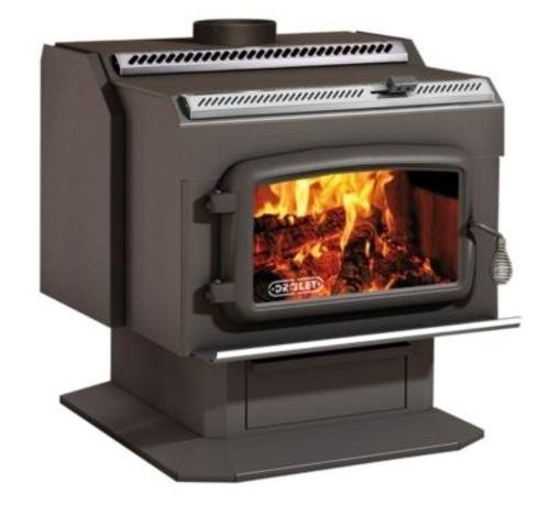 Review drolet high efficiency wood stove ht2000 for Small efficient wood stoves
