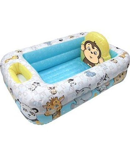 Garanimals - Inflatable Safety Baby Bathtub by Disney - 1