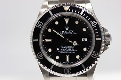 【MT351】★ROLEX 〔ロレックス〕サブマリーナ シードゥエラー メンズ ブラック文字盤 腕時計 自動巻き 16600 S番★【中古】【平行輸入品】